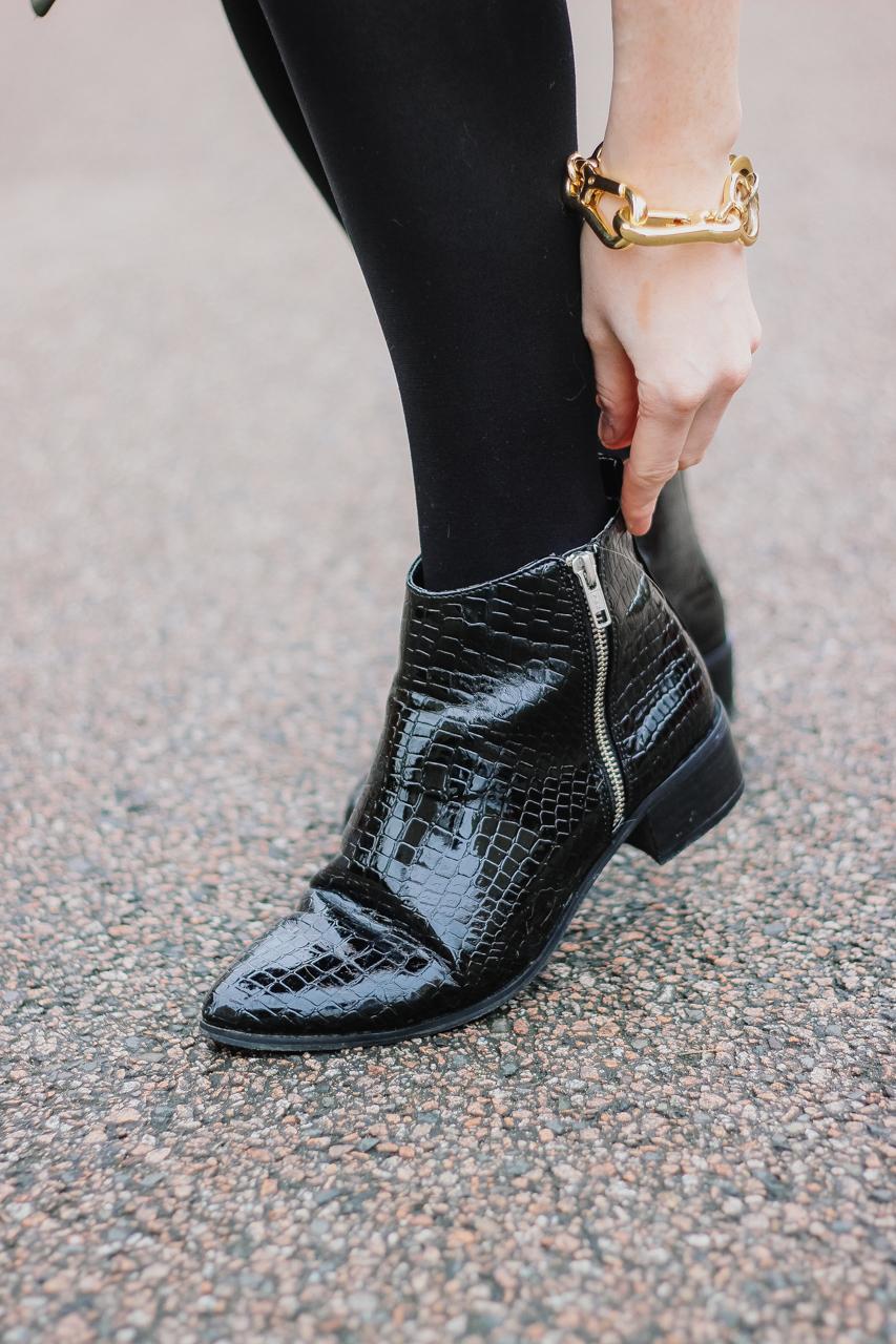 Asos Ankle Croc Boots