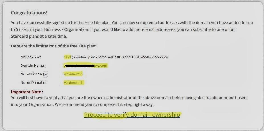 Cara Membuat Email Domain Sendiri di Zohomail   Mr.Mung