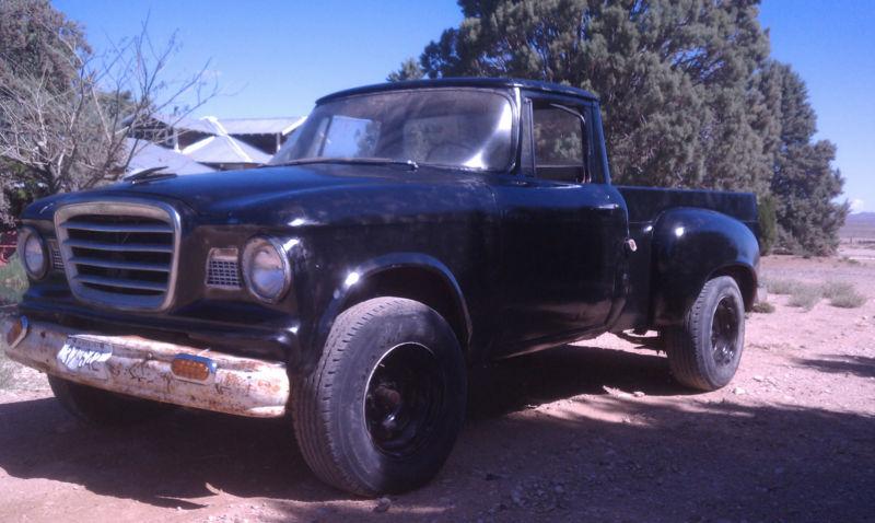 1k: Mercedes-Baker: 1960 Studebaker Champ Turbo Diesel Truck