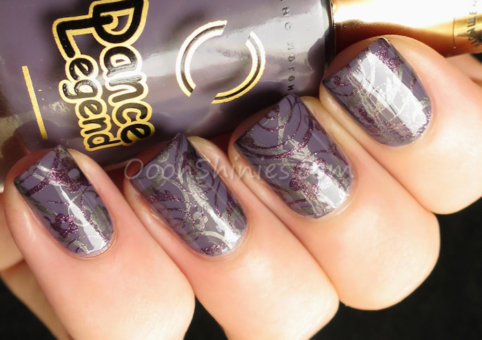 Dance Legend #1048 with Essence Hex hex!, China Glaze Rendezvous With You and Bundle Monster BM-719