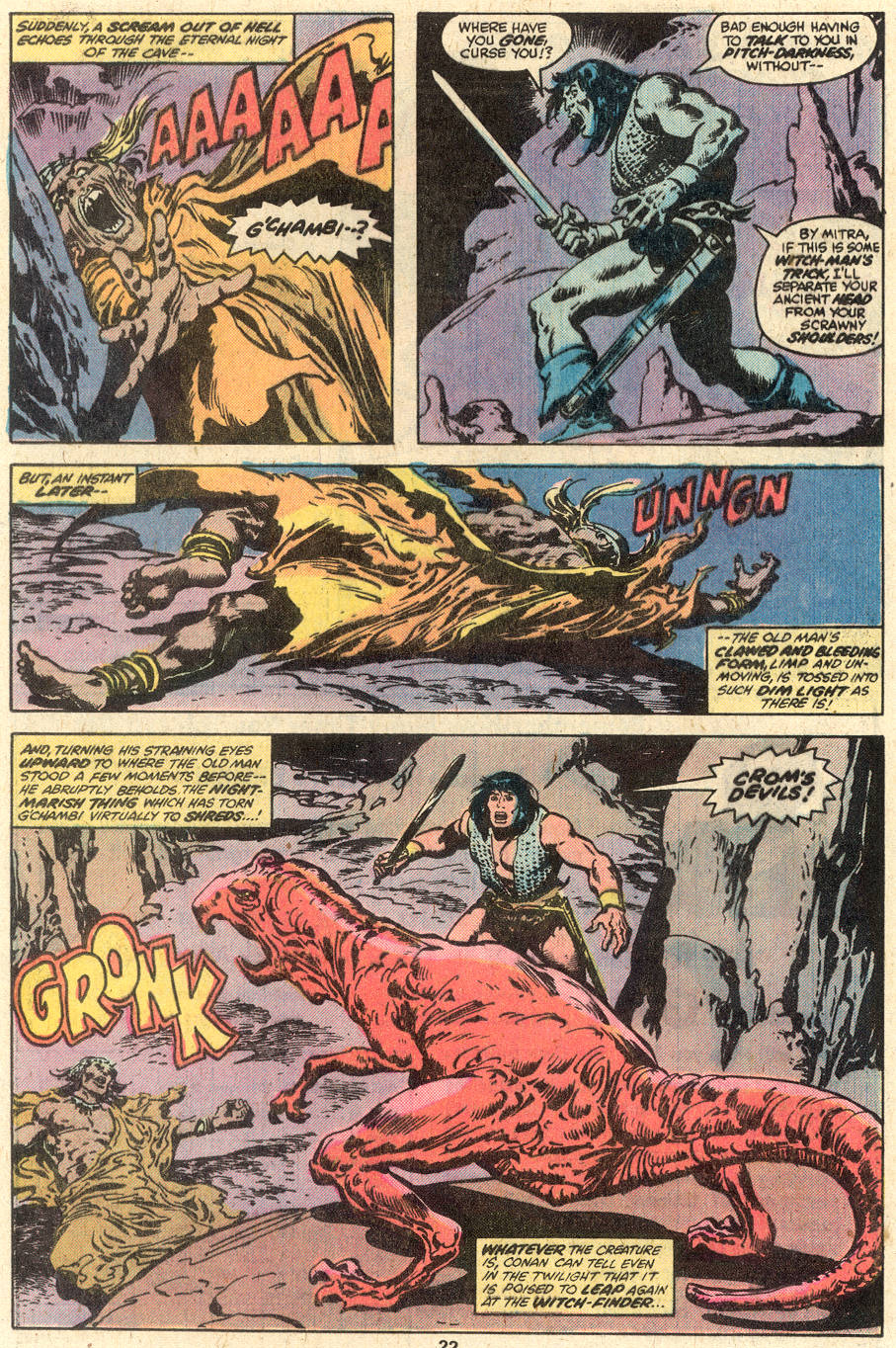Conan the Barbarian (1970) Issue #95 #107 - English 13