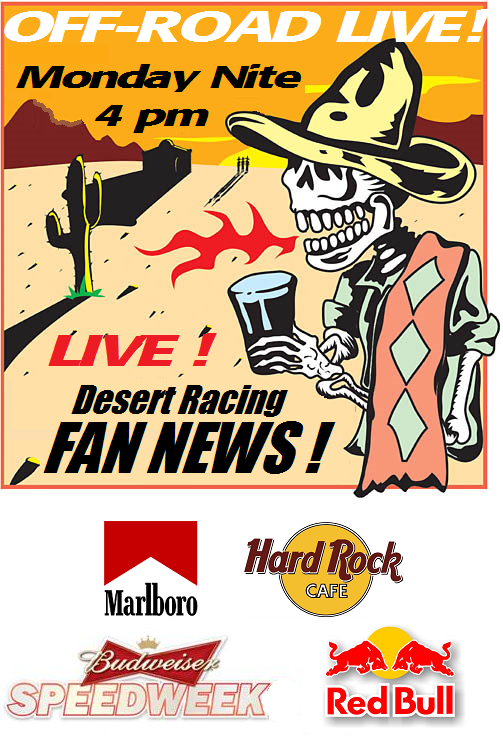 Baja Racing News LIVE!: 11/30/14 - 12/7/14