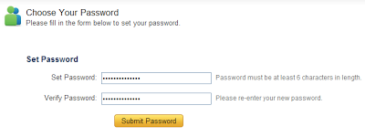 set password alexa