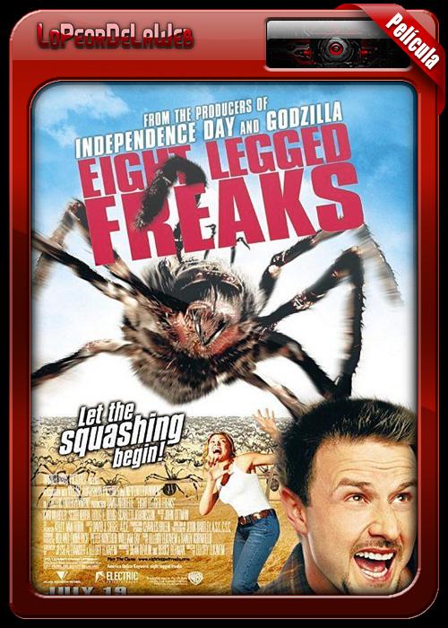 Eight Legged Freaks (2002) | El Ataque de las Arañas 720p