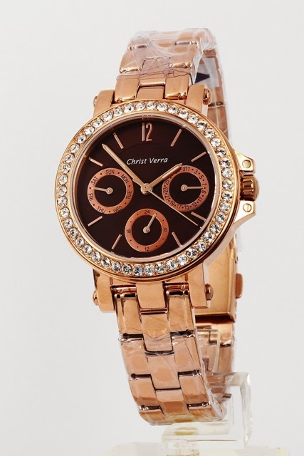christ cerra cv 21966L-15 brown rosegold female 35mm