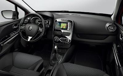 Nuevo Renault Clio 4ª generación Interior