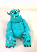 Hand mold Sully (Monster Inc.) .
