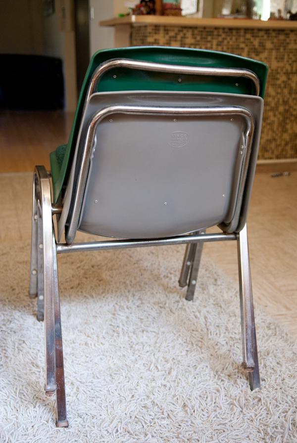 Virco Industrial Chairs 13 Garage Sell Vintage Furniture Los