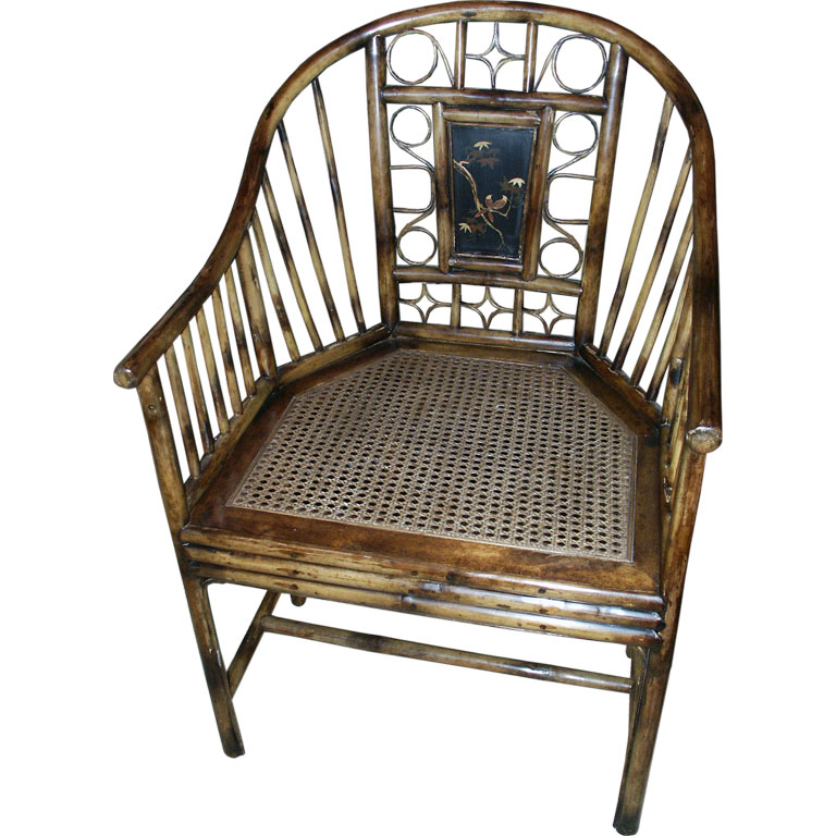 Chinoiserie Chic Bamboo and Cane Chairs HighLow