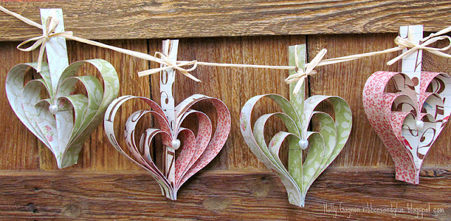 Simple Heart Garland