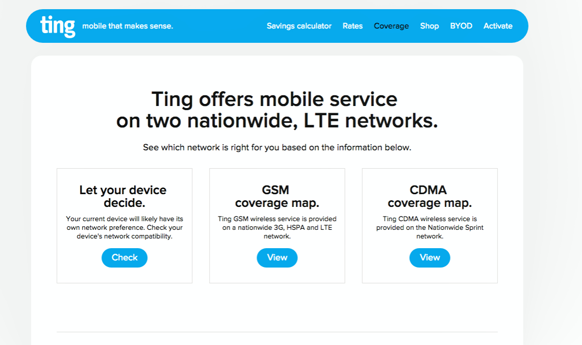 Ting Cell Phone Service