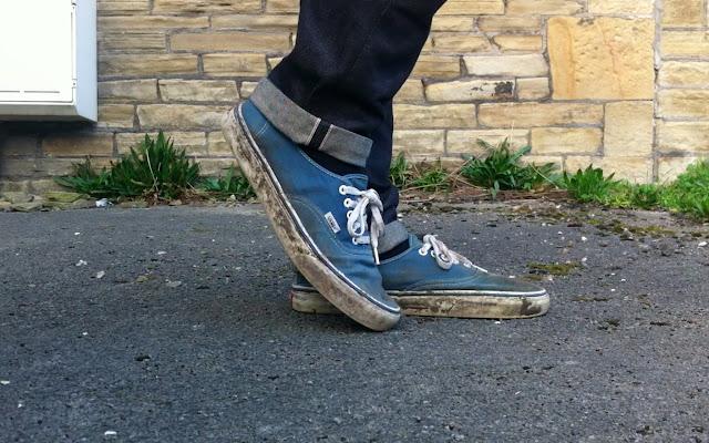 how to break into new vans shoes