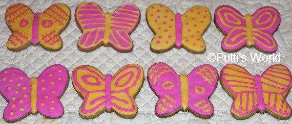 Butterfly Cookies  Kids Party Themed Food