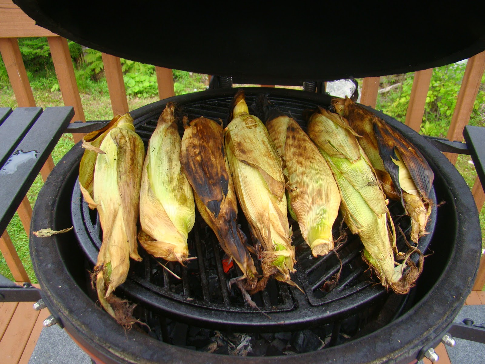 how to cook corn on the cob on the bbq