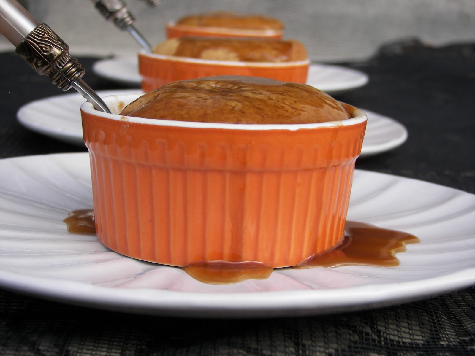 ... Spice Cake Covered With Rum Caramel Sauce/Walk with Zoulah and Beaulah