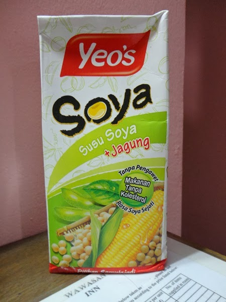Soya Yeo's: Susu soya + Jagung
