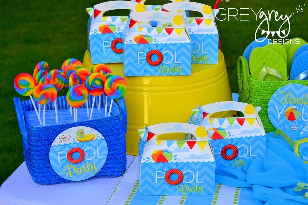 greygrey designs my parties summer pool party by greygrey designs