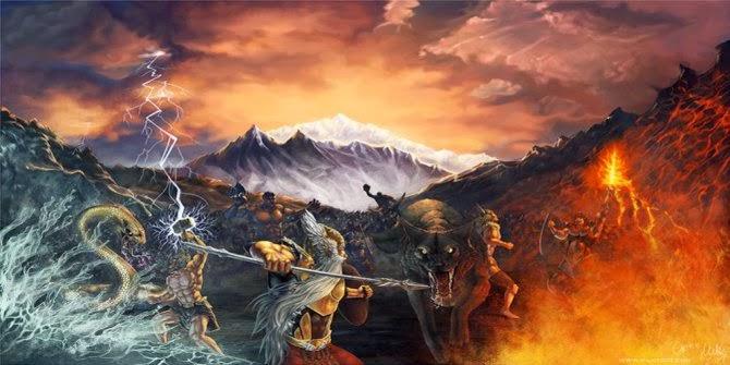 Ramalan Viking: Sabtu 22 Februari 2014 Bumi Terbelah Dua !