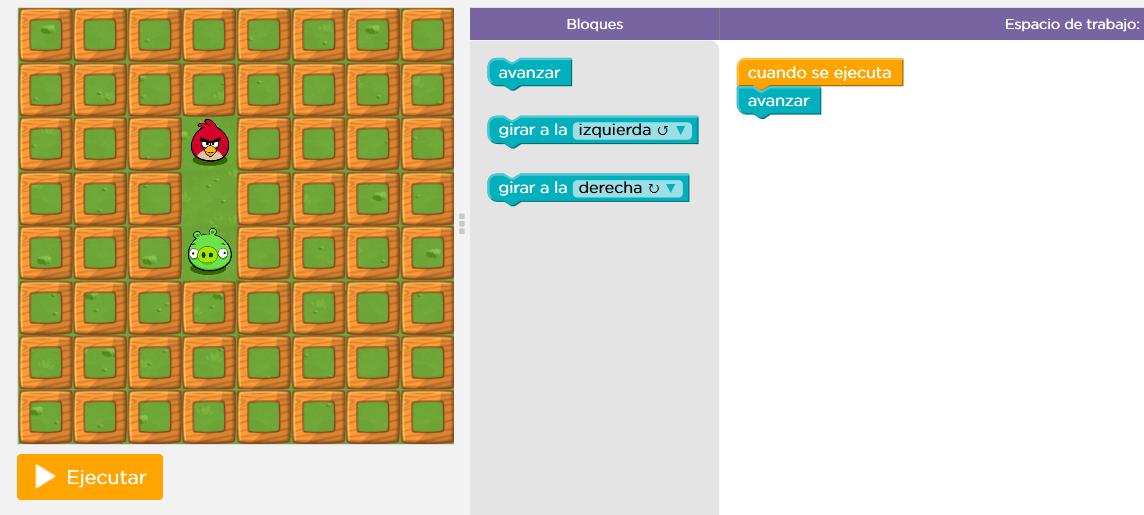 La tutoría en Infantil: Aprendemos a programar con Angry Birds. La ...