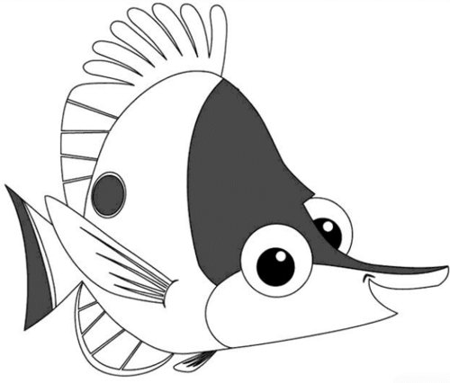 finding nemo coloring pages for kids - Finding Nemo Characters Coloring Pages