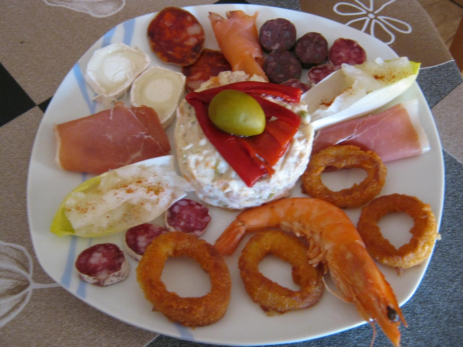 Echarse a correr elogio del entrem s frente a los for Platos para aperitivos