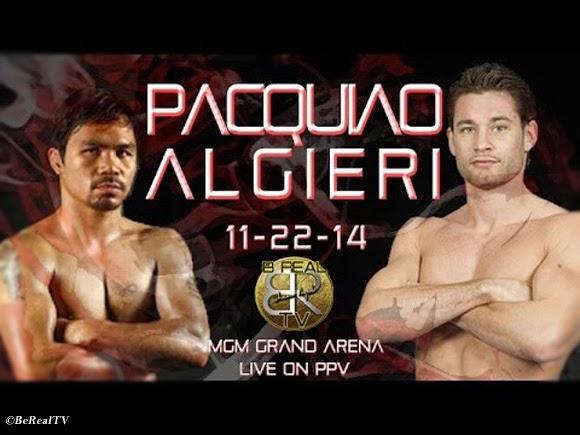 Analyzed: Pacquiao vs Algieri Fight Watch Live Stream Broken Down