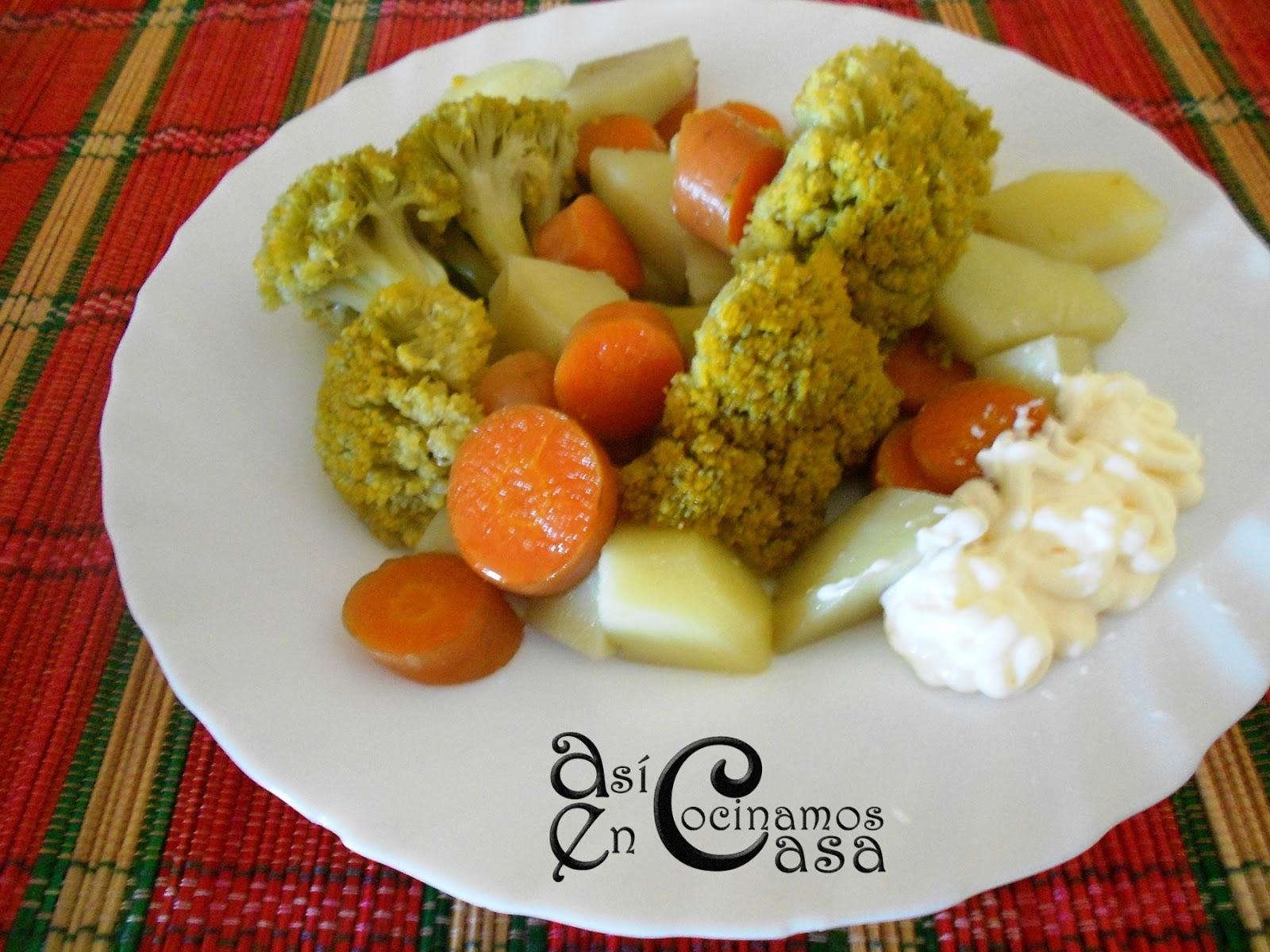 Crema de brocoli cocinar en casa es for Cocinar zanahorias