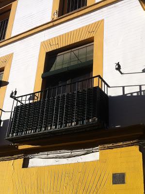 Balcón en Sevilla