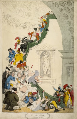 Thomas Rowlandson, Exhibition Stare Case