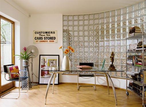 Bricolage e decora o como usar tijolos de vidro na decora o - Piastrelle vetrocemento ...
