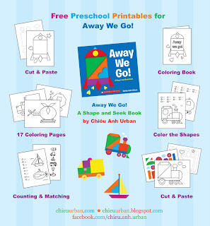 FREE Away We Go! printables and activities