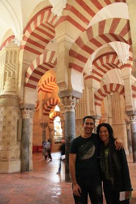 Mosque of Córdoba in Spain