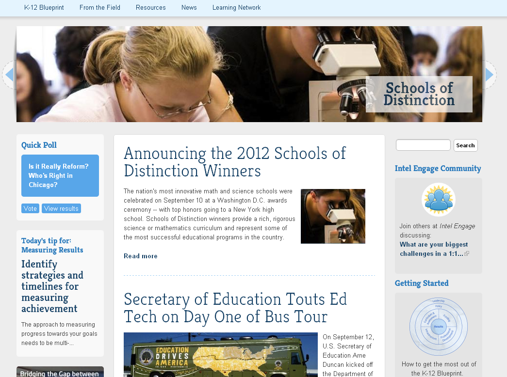 Educational technology guy k 12 blueprint site updated resources you can subscribe to the free magazine and use the site there are educator blogs articles on educational technology and much more malvernweather Gallery