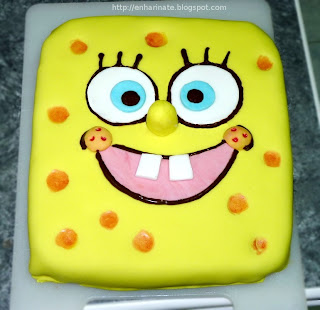 Bob Esponja fondant EnHarinate