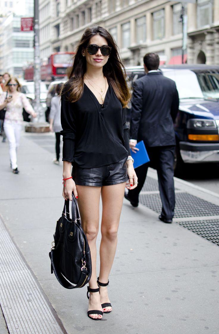 Manoun Mania: Who wears short leather shorts?