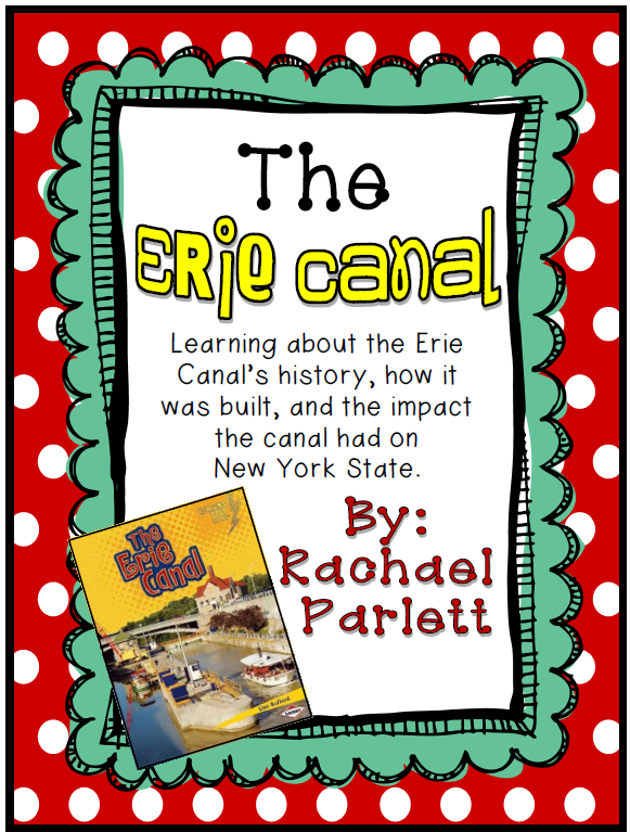 https://www.teacherspayteachers.com/Product/Teaching-the-Erie-Canal-with-Literature-and-a-Group-Project-359554