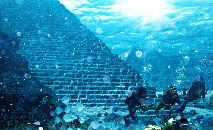 Underwater Ruins, Misteri Peradaban Masa Lalu Di Dunia