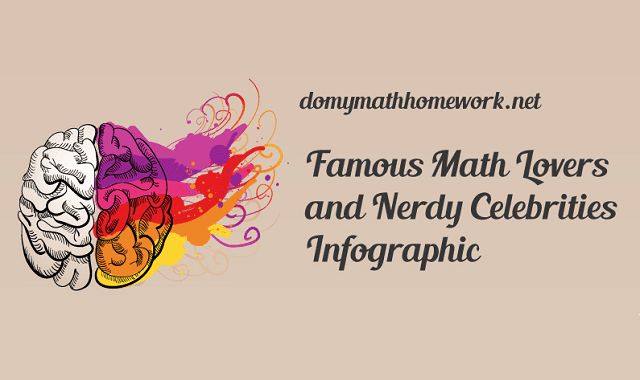 Famous Math Lovers and Nerdy Celebrities
