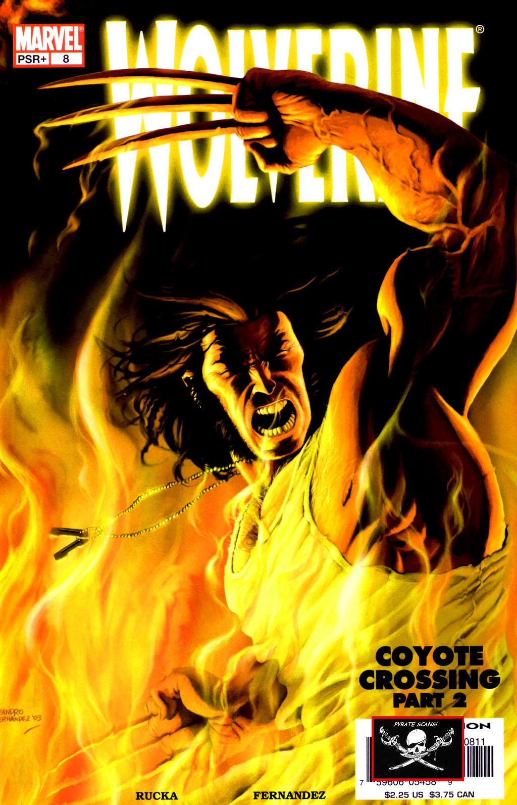 Read online Wolverine (2003) comic -  Issue #8 - 1