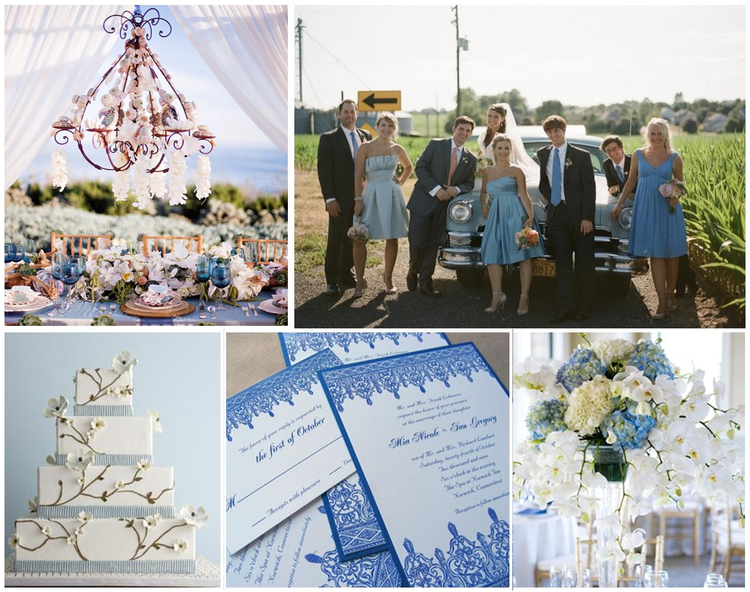Quick Backyard Wedding Ideas : Sources (clockwise, starting from top left corner)