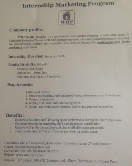 http://www.cambodiajobs.biz/2015/06/internships-whp-realty.html