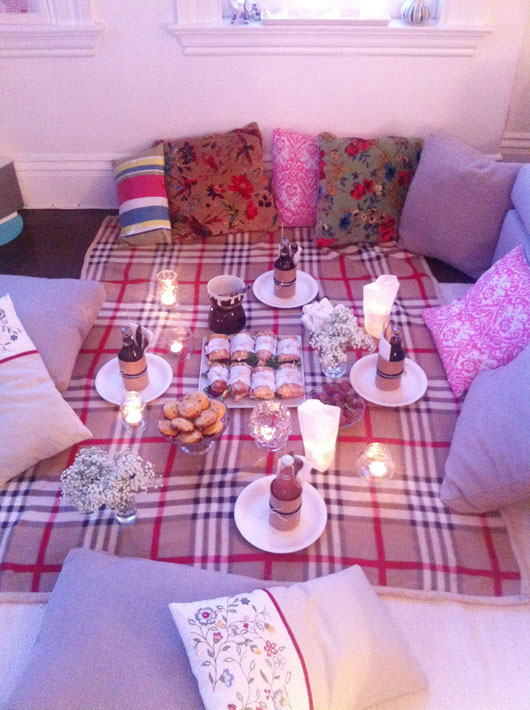 diy 07 indoor picnic fluxi on tour. Black Bedroom Furniture Sets. Home Design Ideas