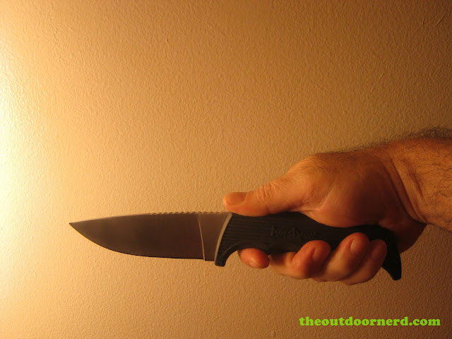 Kershaw Bear Hunter II Grip 1