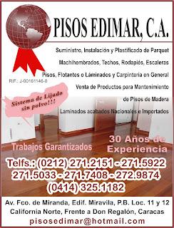 PISOS EDIMAR, C.A. en Paginas Amarillas tu guia Comercial