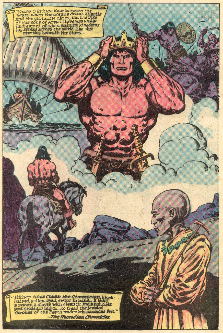 Conan the Barbarian (1970) Issue #115 #127 - English 34