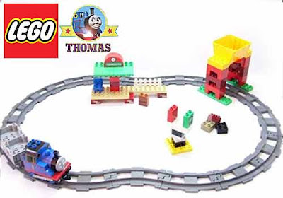 Children learning building brick 5554 Lego Duplo Thomas the tank engine Train Set Toy Load and Carry