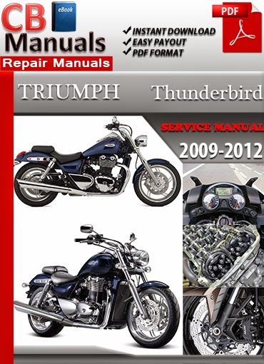 2000 triumph thunderbird 900 manual