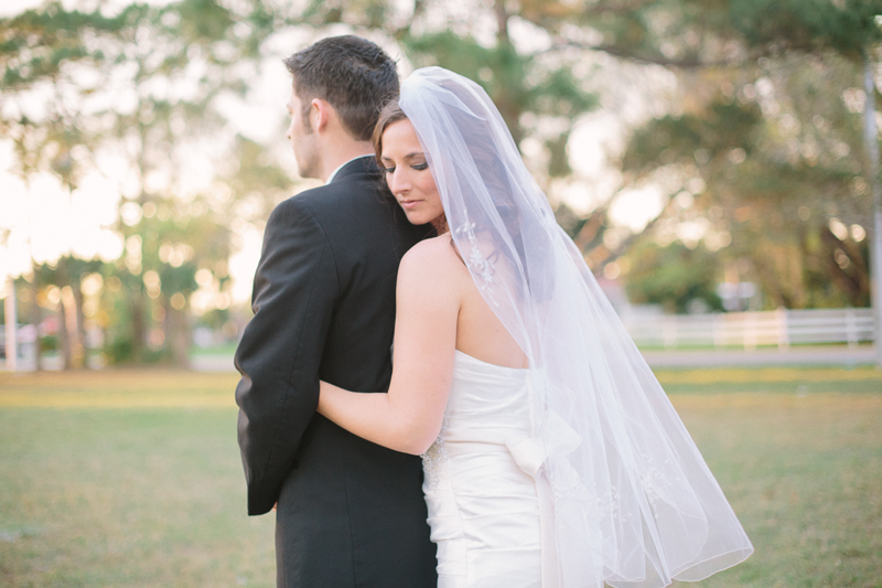 palm beach florida wedding bride and groom photo