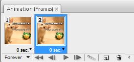 cara buat gambar animasi dengan photoshop