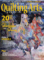 I've been published in the December 2020/January 2021 issue of Quilting Arts!